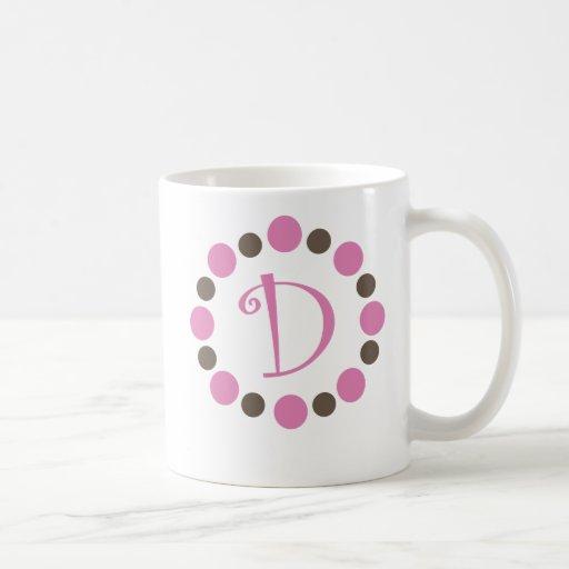 """Taza inicial """"D """" de Dotz"""