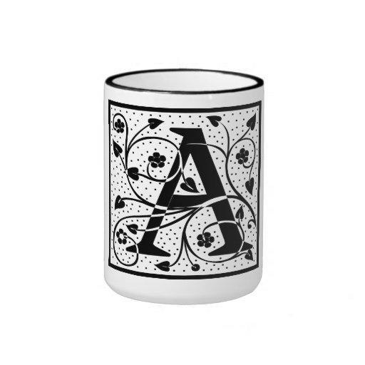 "Taza inicial de ""A"""