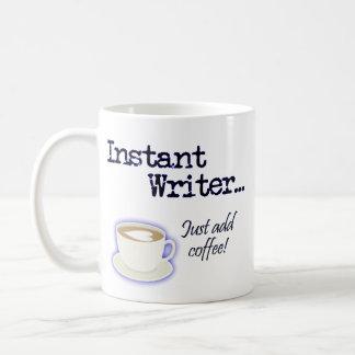 Taza inmediata del escritor…
