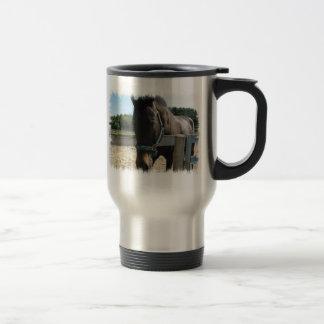 Taza inoxidable del viaje del caballo excelente os