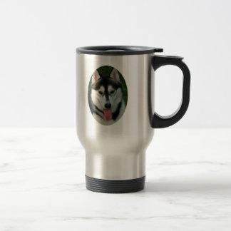 Taza inoxidable del viaje del perro de trineo