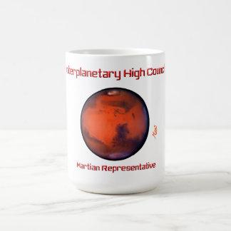Taza interplanetaria del alto consejo -- Marte