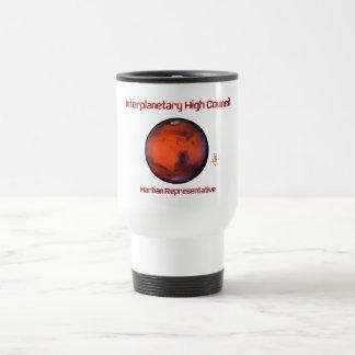 Taza interplanetaria del viaje del alto consejo --