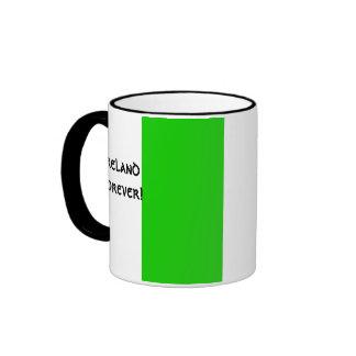 Taza irlandesa de la bandera