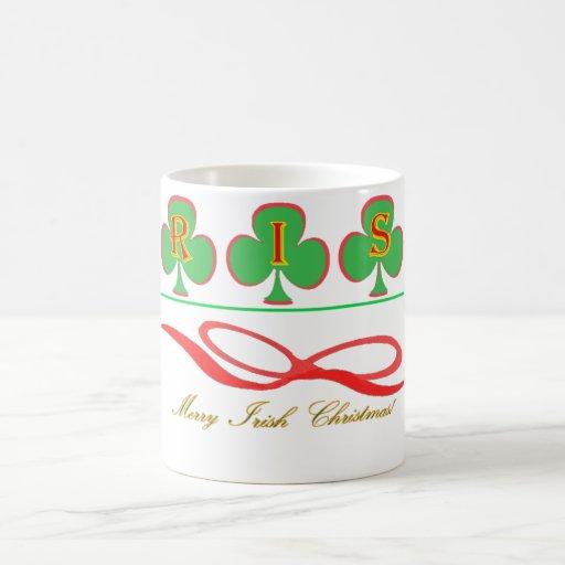 Taza irlandesa del navidad