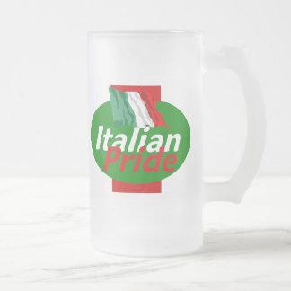 Taza italiana del orgullo