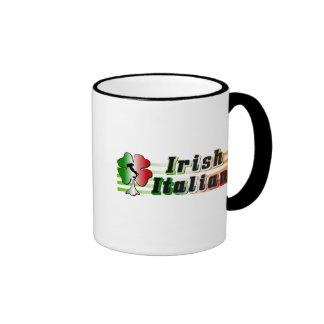 Taza italiana irlandesa