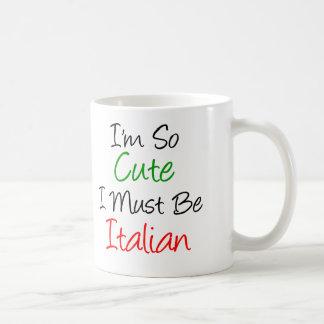 Taza italiana tan linda
