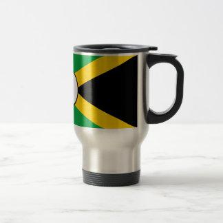 Taza jamaicana de la bandera