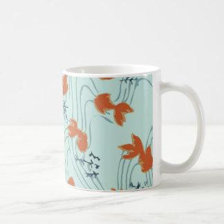 Taza japonesa de Chiyogami del Goldfish
