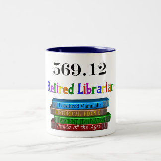 Taza jubilada del bibliotecario 569,0 (sistema dec