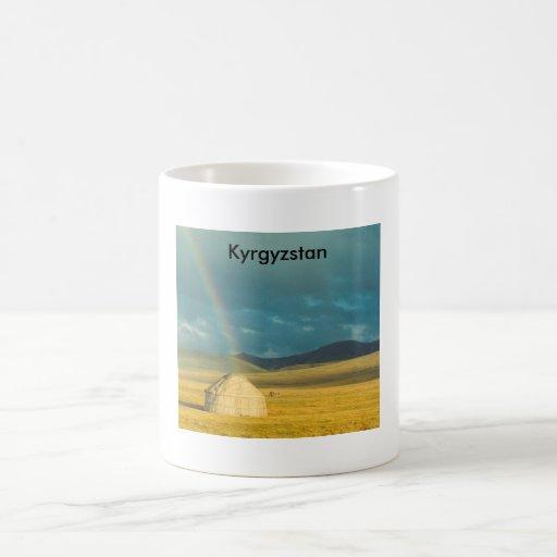 Taza kirguizia de Yurt