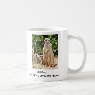 Taza la grande de Meerkat