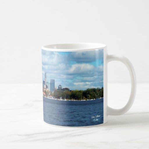 Taza: Lago Calhoun - Minneapolis, manganeso Taza
