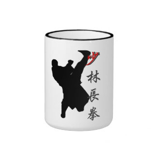 Taza larga del boxeo del puño de Shao Lin