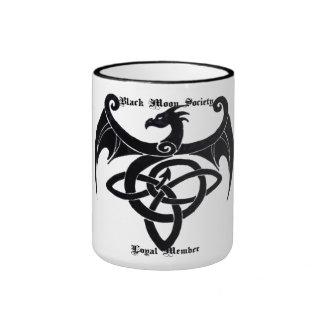 Taza leal del dragón del miembro de la sociedad