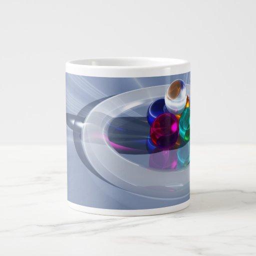 Taza ligera de doblez de la especialidad tazas extra grande