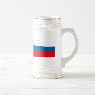 Taza (ligera) de la bandera de Rusia