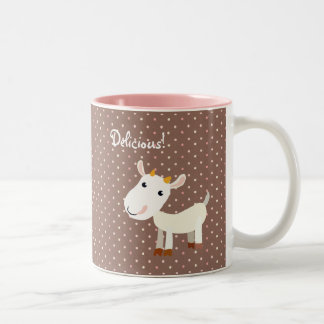 Taza linda de la cabra de Billy del bebé -