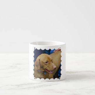Taza linda de la especialidad del perro de Vizsla Taza Espresso