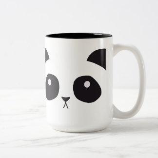 Taza linda de la panda