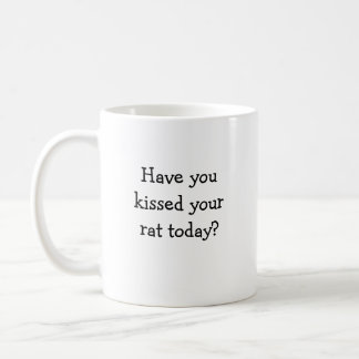 Taza linda de la rata