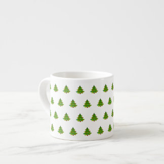 Taza linda del café express del árbol taza espresso
