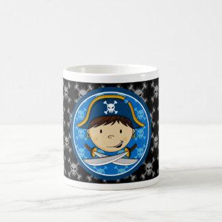 Taza linda del capitán café del pirata