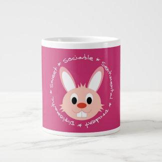 Taza linda del conejo tazas jumbo