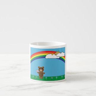 Taza linda del oso taza espresso