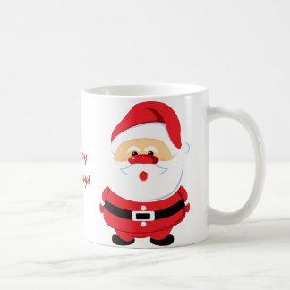 Taza linda del personalizado de Papá Noel