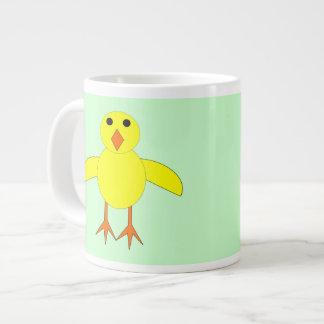Taza linda del polluelo de Pascua Tazas Extra Grande