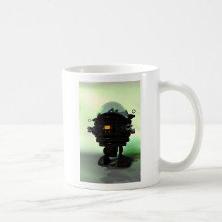 Taza linda del robot del planeta del juguete