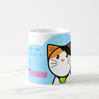 "Taza linda ""princesa del gato de Kawaii del gatito"