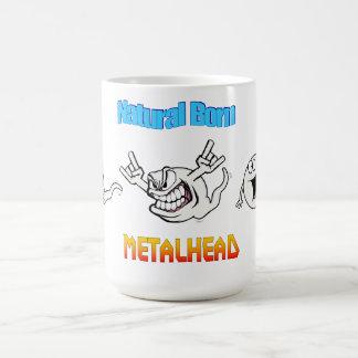 Taza llevada natural de Metalhead