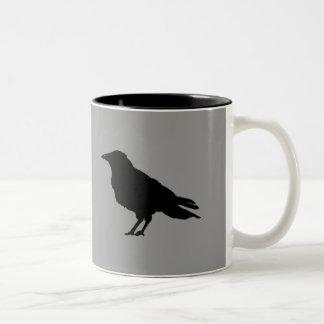 Taza loca del cuervo