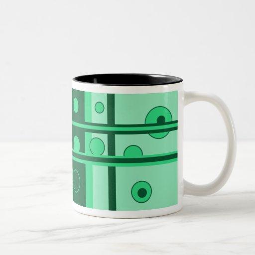 Taza loca del verde 11