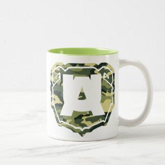 taza logo militar