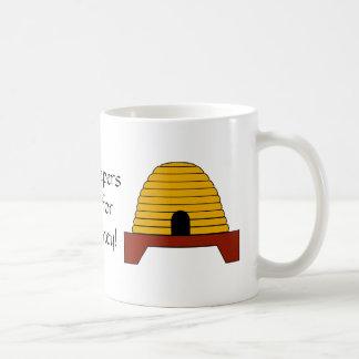 ¡Taza - los encargados de la abeja la hacen para Taza De Café