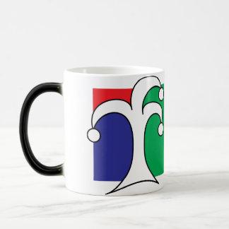 taza mágica absurda del té (o café)