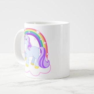 Taza mágica de la especialidad del unicornio taza grande