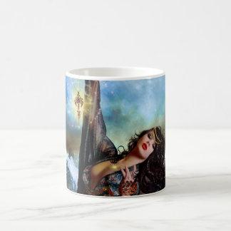 Taza mágica de la taza de la sirena de la bruja