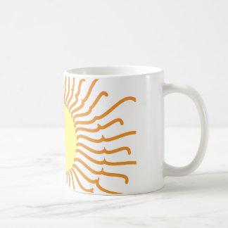 Taza majestuosa de Sun