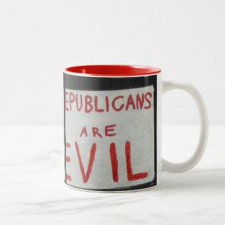 Taza malvada de los republicanos