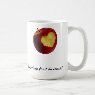 Taza manzana