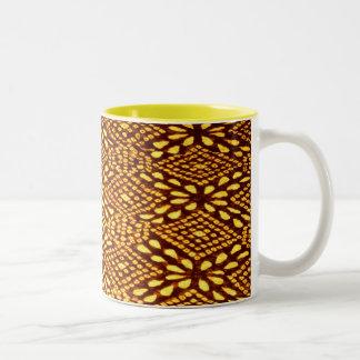 taza marrón de Jaipur