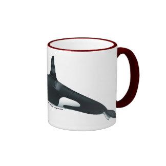 Taza masculina del campanero de la orca