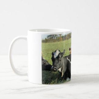 Taza maternal de la vaca