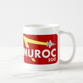 Taza mayor de la insignia de Muroc EOD