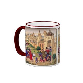 Taza medieval del arte